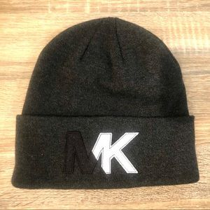 MICHAEL KORS men's knit fold over cuff beanie
